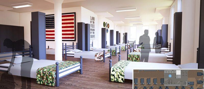 Dallas-Life-Poster---Veteran's-Dormitory