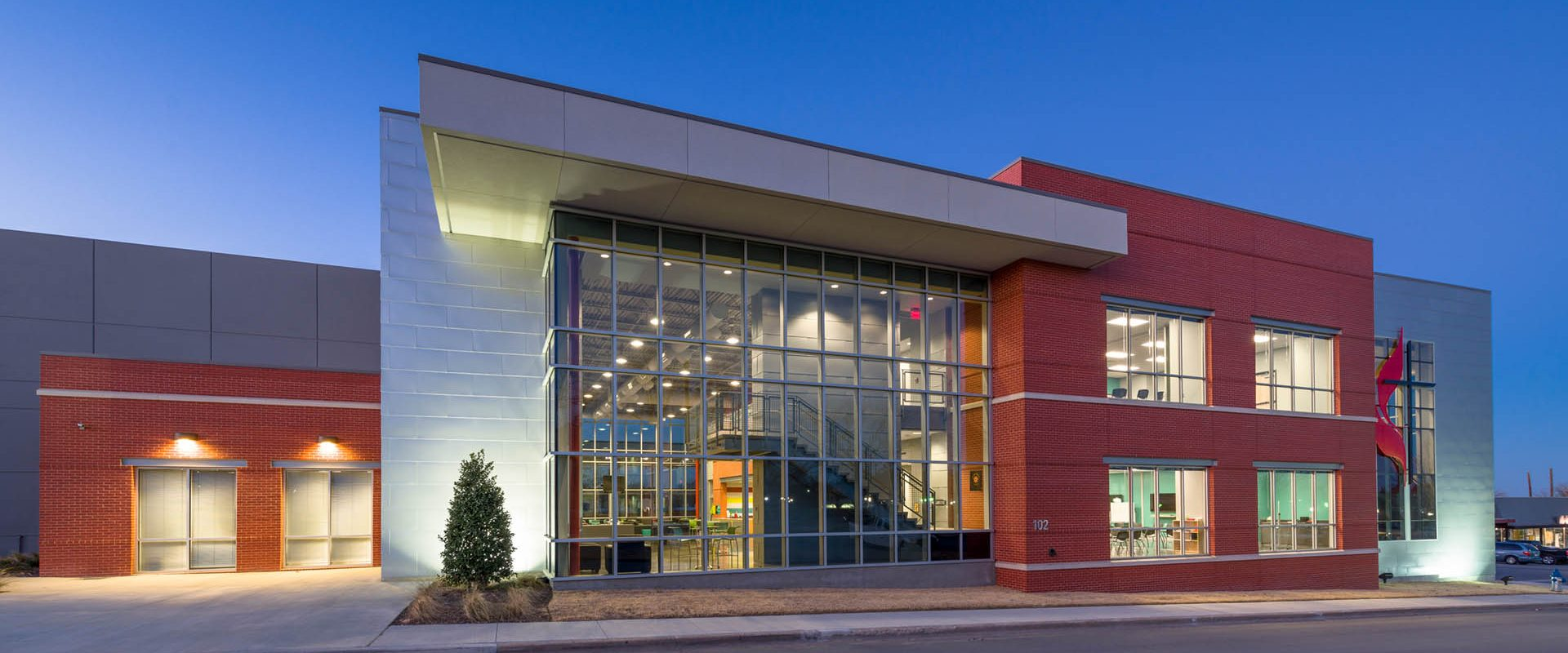 First United Methodist Church youth center for HH Architects